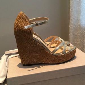 2f2202b2276 Jimmy Choo Shoes - NWT Jimmy Choo Delaney 125 sandal. Sz41